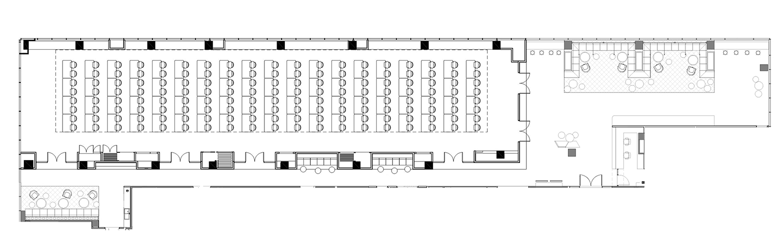 Full conference venue floor plan