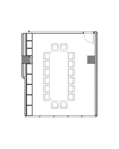 Wattle meeting room floor plan